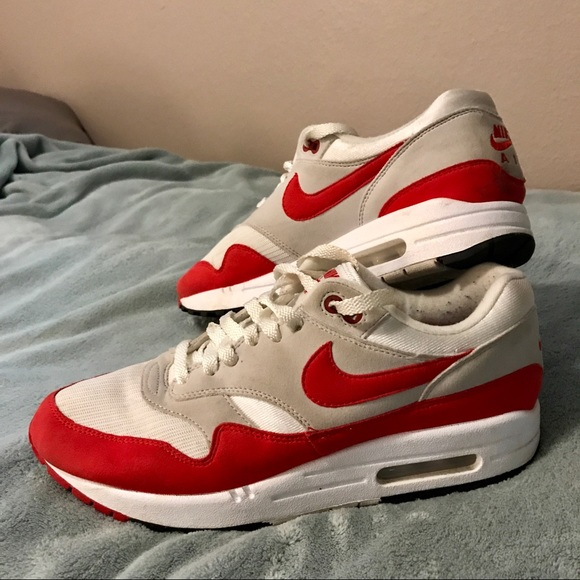 best sneakers 512dd 55410 OG 2017 nike air max 1 anniversary red